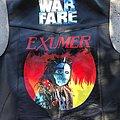 Exumer - Battle Jacket - Painted Leather Vest (Exumer/Warfare)