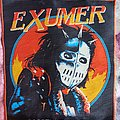 Exumer - Patch - Exumer Official Backpatch (Red Boarder) (Woven)