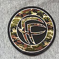Fear Factory Logo Camo Patch