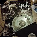 Nekrofilth - Devil's Breath (grey splatter wax) vinyl LP. Tape / Vinyl / CD / Recording etc