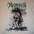 Nekrofilth - Texas Death Rush white (tour) shirt.