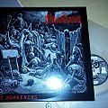 Merciless - The Awakening (Osmose reissue) vinyl LP. Tape / Vinyl / CD / Recording etc