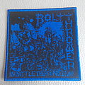 Bolt Thrower - In Battle There Is No Law   woven patch Brand New