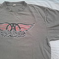 Aerosmith  Nothing Can Stop This Rock World Tour - 1999  Original T-Shirt size L / XL