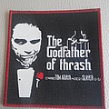 Tom Araya - the Godfather of Thrash   woven patch Brand New
