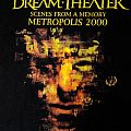 Dream Theater - Metropolis Scenes from a Memory 2000 T-shirt  size L
