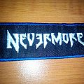 Nevermore Embroidered Patch
