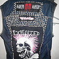 PUNK VEST The Exploited ,  Casualties , Mad Sin , Marilyn Manson Patch