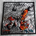 HIRAX--Hate, Fear & Power --High quality embroidered patch - OFFICIAL-RARE