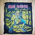 "Original Woven Iron Maiden ""Piece Of Mind"" Patch - VINTAGE"