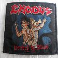 Exodus 'Bonded By Blood' Woven Patch