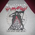 Exhumed grindcore death metal band baseball 3/4 size M San Jose Death Metal red