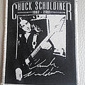 Chuck Schuldiner  woven patch Brand New