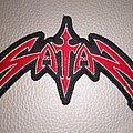 Satan - Patch - Satan - logo patch