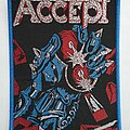 Accept - Patch - Accept -  Balls to the Wall - woven patch