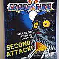 Crossfire - Patch - Crossfire - Second Attack  - back patch