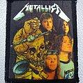 Metallica - Patch - Metallica '80s printed patch