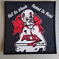 """Acid - Patch - Acid """" Hell on Wheels ... """"   Woven patch"""