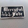 Mercyful Fate - Pin / Badge - Mercyful Fate - enameled pin - black