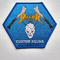 Razor - Patch - Razor - Custom Killing - official woven patch