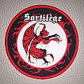 Sortilege - Patch - Sortilege - official woven patch - red border