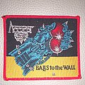 Accept - Patch - Accept -  Balls to the Wall - 80's woven patch