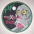 Crossfire - Patch - Crossfire - Second Attack  woven patch green glitter border