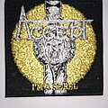 Accept - Patch - Accept - I'm a Rebel - woven patch black border