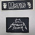 Misfits - Patch - Misfits  '80s patch  Metallica patch