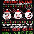 Dying Fetus - Ugly Christmas T-shirt  size-M