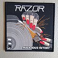 Razor - Patch - Razor - Malicious Intent - woven patch official