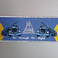 Def Leppard - Patch - Def Leppard - On Trough the Night -  woven patch / stripe