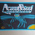 Agent Steel - Patch - Agent Steel - Mad Locust Rising - woven patch