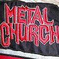 Metal Church - Patch - Metal Church - logo patch