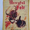 Mercyful Fate - Patch - Mercyful Fate - Don't break the oath - woven patch yellow border