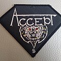 Accept - Patch - Accept - I'm a Rebel - original 80's  woven patch