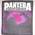 Pantera - Cowboys from hell - woven patch