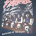 Exodus - TShirt or Longsleeve - EXODUS - Pleasures Of The Flesh T-shirt size - M