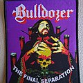 Bulldozer - Patch - Bulldozer - The Final Separation - woven patch