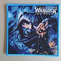 Warlock - Patch - Warlock - Triumph and Agony - woven patch blue border