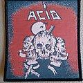 """Acid - Patch - Acid """" Acid """"  woven patch"""