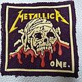 Metallica - Patch - Metallica  - One '80s  rubber patch