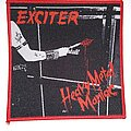 Exciter - Patch - Exciter - Heavy Metal Maniac -  woven patch