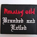 Running Wild - Patch - Running Wild - Branded and Exiled - patch