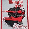 Mercyful Fate - Patch - Mercyful Fate - Melissa - woven patch