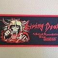 Living Death - Patch - Living Death - Metal Revolution Tour 85/86 - woven patch