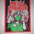 Metal Church - Patch - Metal Church - Fake Healer - woven patch