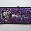 Motörhead - Patch - Motorhead - vtg 80's mini stripe patch