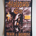 Hallows Eve - Patch - Hallow's Eve  -  Death & Insanity  woven patch
