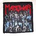 Manowar - Patch - Manowar Fighting The World 1987 patch